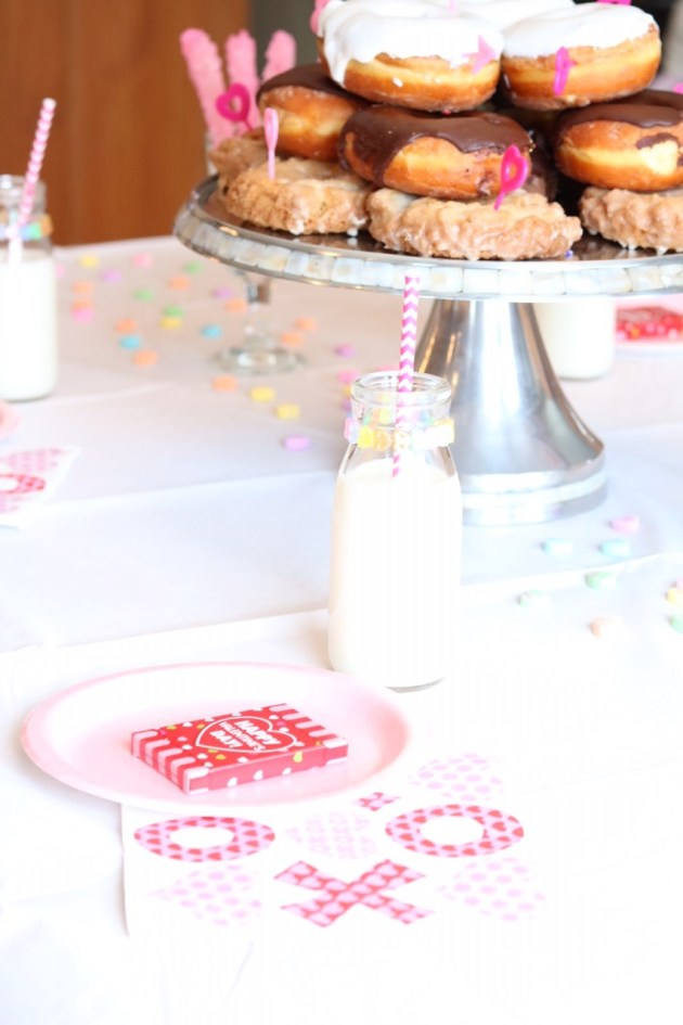 Valentine's Day Donut Party for Kids