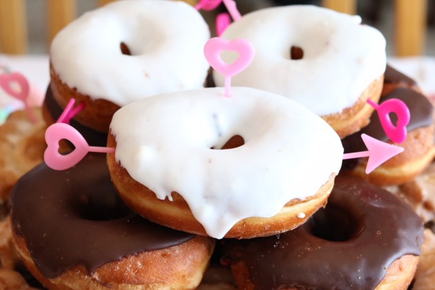 Valentine's Day Donut Party for Kids from Oriental Trading Company