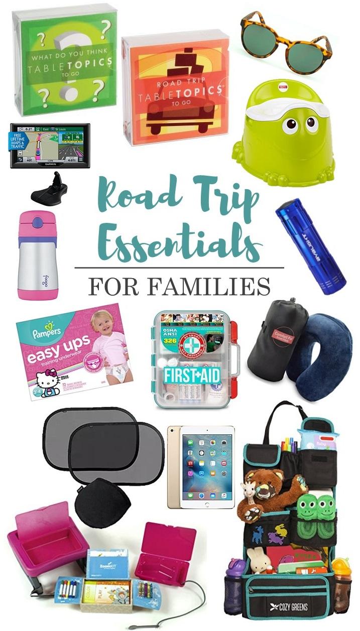 The Ultimate Family Road Trip Essentials List - SUGAR ...