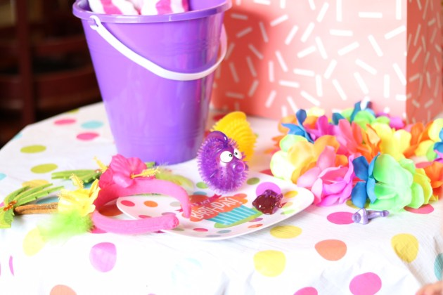 Evie's Ocean Themed 3rd Birthday Party - Pool Party with Oriental Trading Company Decor and Party Supplies