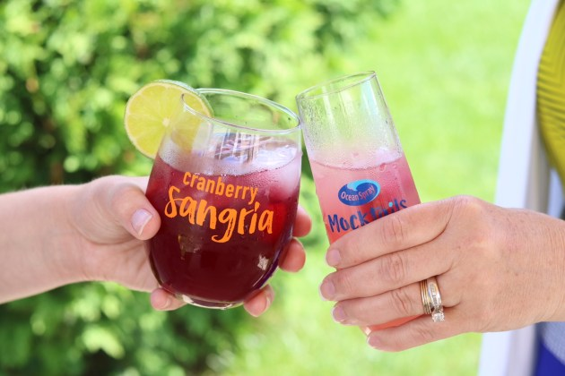 Mock-Tales with Mom - Celebrate summer with Ocean Spray mocktails Cheers!