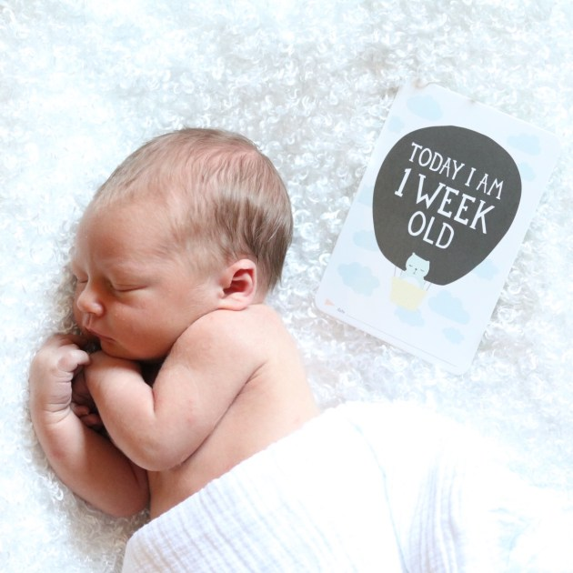 Welcome to the World Levi James - Newborn Photo Shoot - A Birth Story