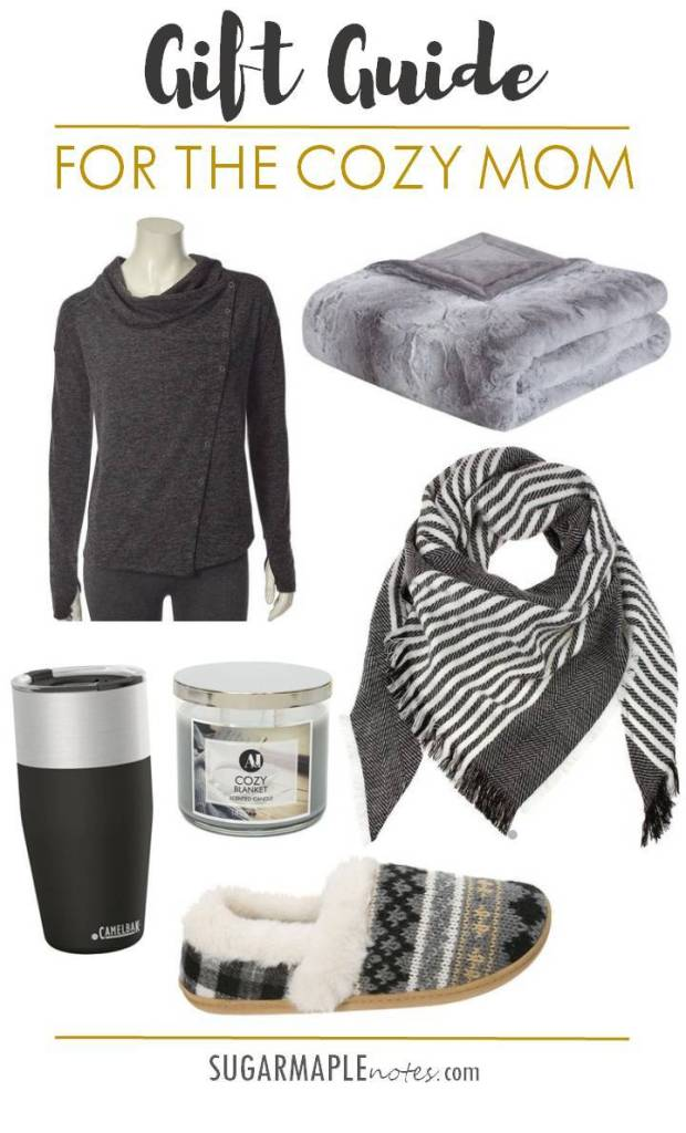 Gift Guide For The Cozy Mom - Great gift ideas for moms this holiday season.