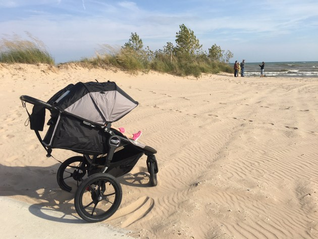 How To Buy The Best Double Stroller - Check out my top reasons why. Baby Jogger Summit X3 Double at the beach!