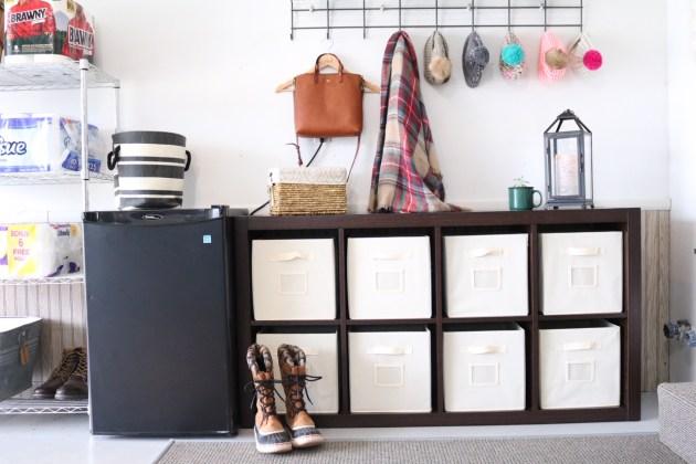 Garage Organization for Winter Gear with Sauder 8-Cube Storage Solution from Shopko