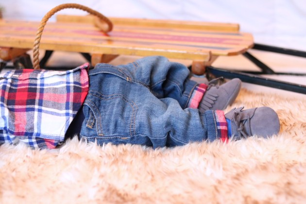Holiday Traditions - THE BEST TIME TO BE A KID with Gymboree baby boy pull-on jeans