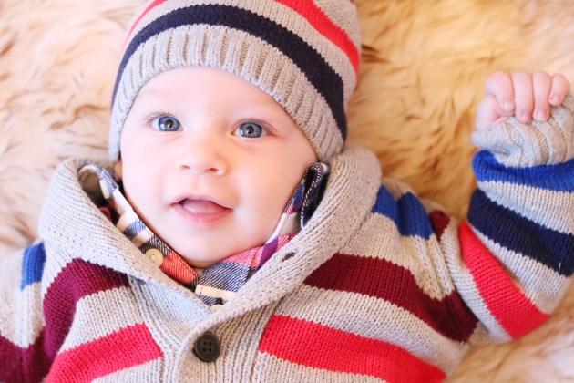 Holiday Traditions - THE BEST TIME TO BE A KID with Gymboree baby boy sweater set