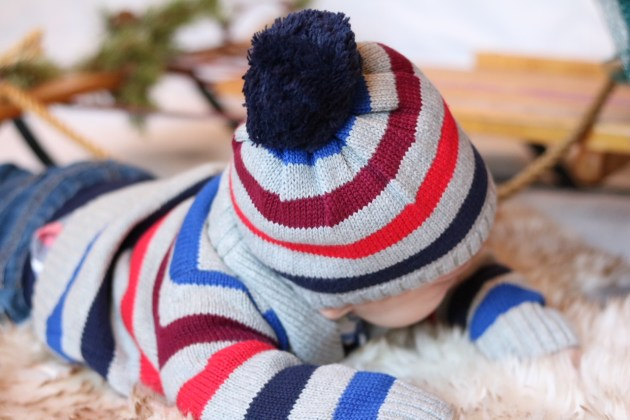 Holiday Traditions - THE BEST TIME TO BE A KID with Gymboree baby boy sweater