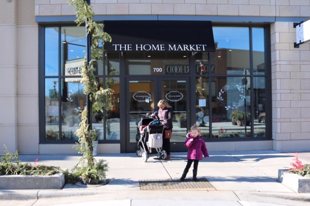Last Minute Holiday Shopping at Hilldale - Home Market Store Front