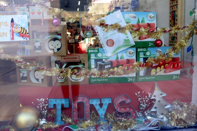 Last Minute Holiday Shopping at Hilldale - Playthings Store Front