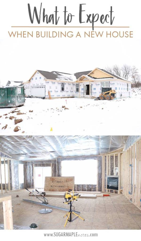 What to expect when building a new home or house. Part 2. #newbuild #buildingahome #buildingahouse #houseplans #floorplans #ranch