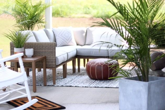 Cozy Modern Patio Reveal Sugar Maple Notes