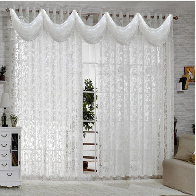 Alessandra French Lace Curtain With Valance 5 Colors Sugarmundo Paris French Decor Shop