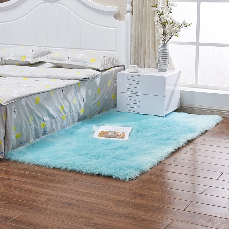 Thierry Faux Fur Extra Large Area Rug 9 Colors  Buy