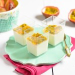Panna Cotta with Passion Fruit