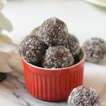 """Chocolate Walnut and Coconut """"Ladoos"""""""