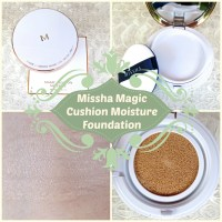 "Missha Magic Cushion Moisture Foundation: ""Healthy Glow"" gefällig?"