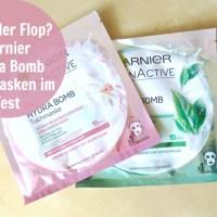 Top oder Flop? Garnier Hydra Bomb Tuchmasken im Test!