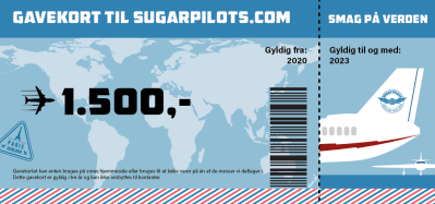 SugarPilots_gavekort_1500