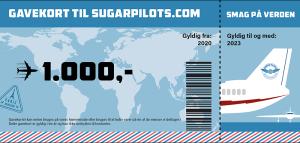 SugarPilots_gavekort_1000