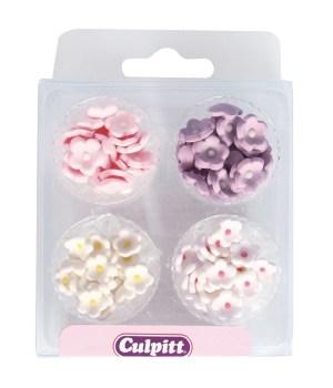 SugarPilots_Små sukkerblomster, farvemix, fra Culpitt
