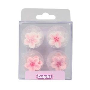 SugarPilots_Store sukkerblomster, rosamix, fra Culpitt