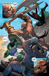 Il fichissimo Hulk di Frank Cho e Greg Pak 06