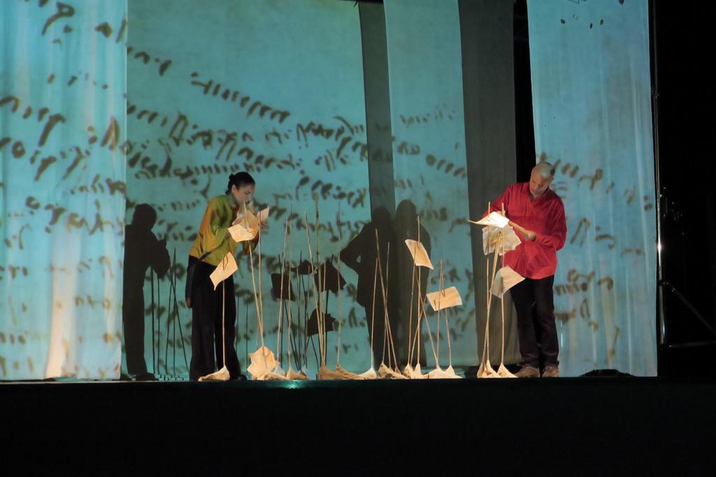 Il genio di Leonardo rivive a teatro