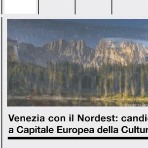 Capitale della Cultura 2019, il flop del Nordest obbliga a una riflessione