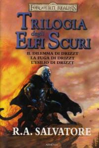Trilogia degli Elfi Scuri, la recensione di Daniele Cutali, cover