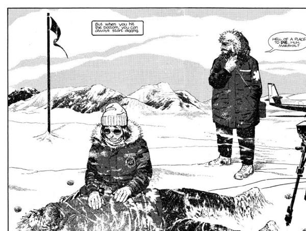 Whiteout di Greg Rucka e Steve Lieber