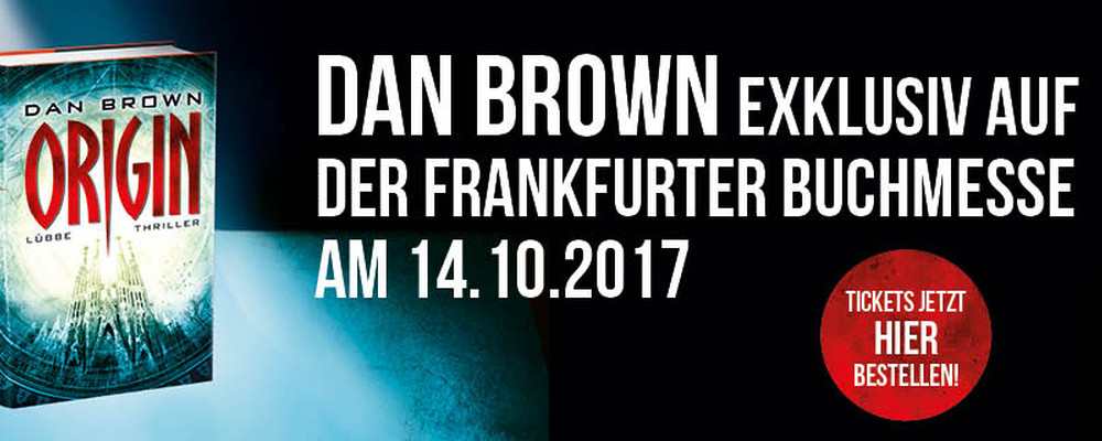 Dan Brown live at the Frankfurter Buchmesse | Sugarpulp MAGAZINE