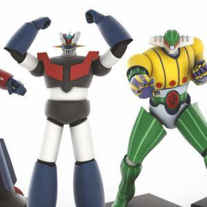 Go Nagai Robot Collection da Gazzetta in collaborazione con Yamato e Fabbri