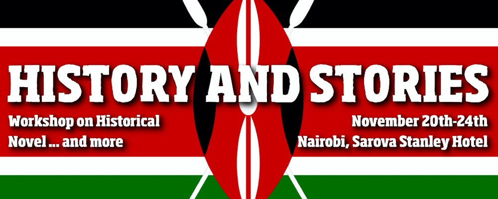 Sugarpulp flies t to Kenya: workshop in Nairobi on the Historical Novel