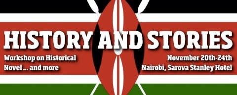 Sugarpulp vola in Kenya: workshop a Nairobi con IIC Historical Novel Workshop