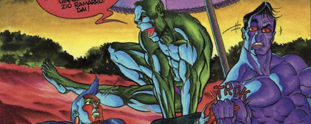 Ramarro di Giuseppe Palumbo, un pezzo di storia a fumetti