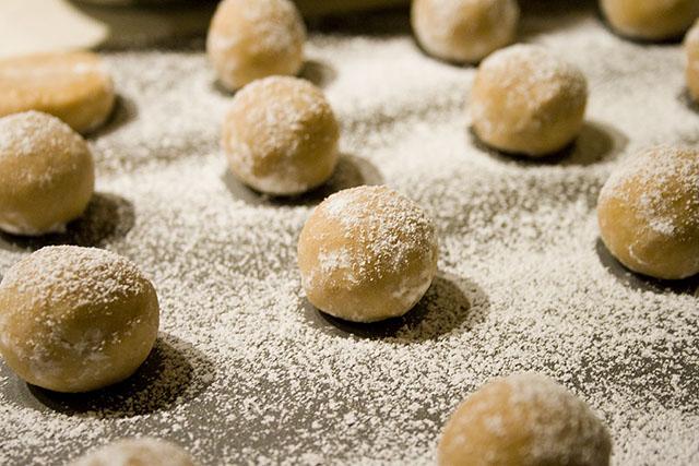Beautiful raw cookie dough