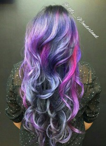 galaxy hair dye tutorial