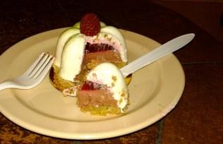 The pistachio cake