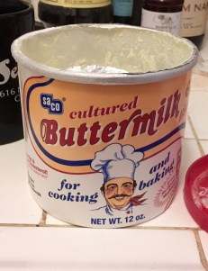 Dry buttermilk is such a great baking hack!