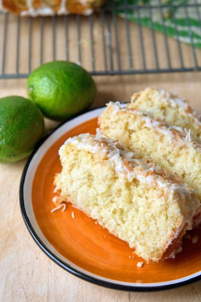 Coconut Lime Loaf | sugarsnapsunset