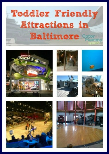 Toddler Friendly Attractions in Baltimore