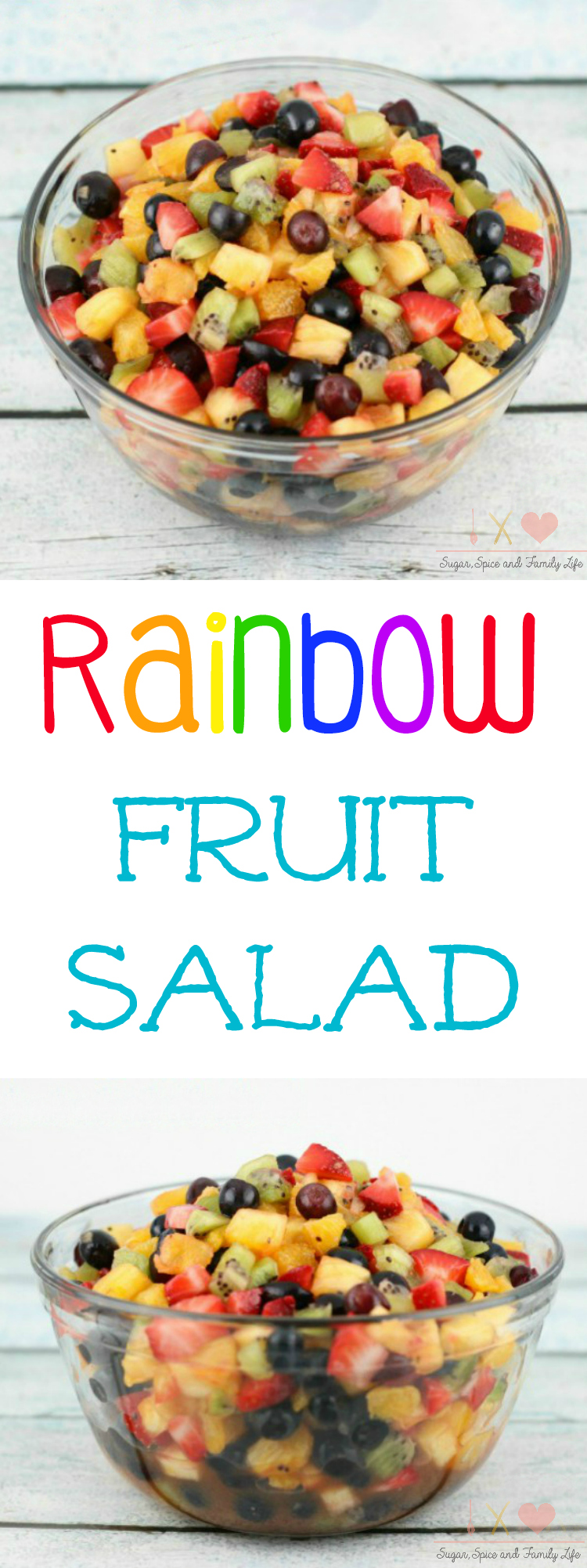 Rainbow Fruit Salad Recipe