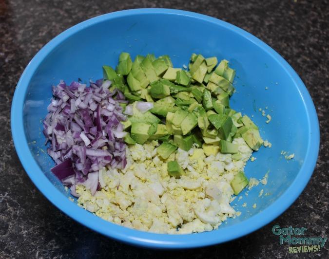 Avocado Egg Salad mixture