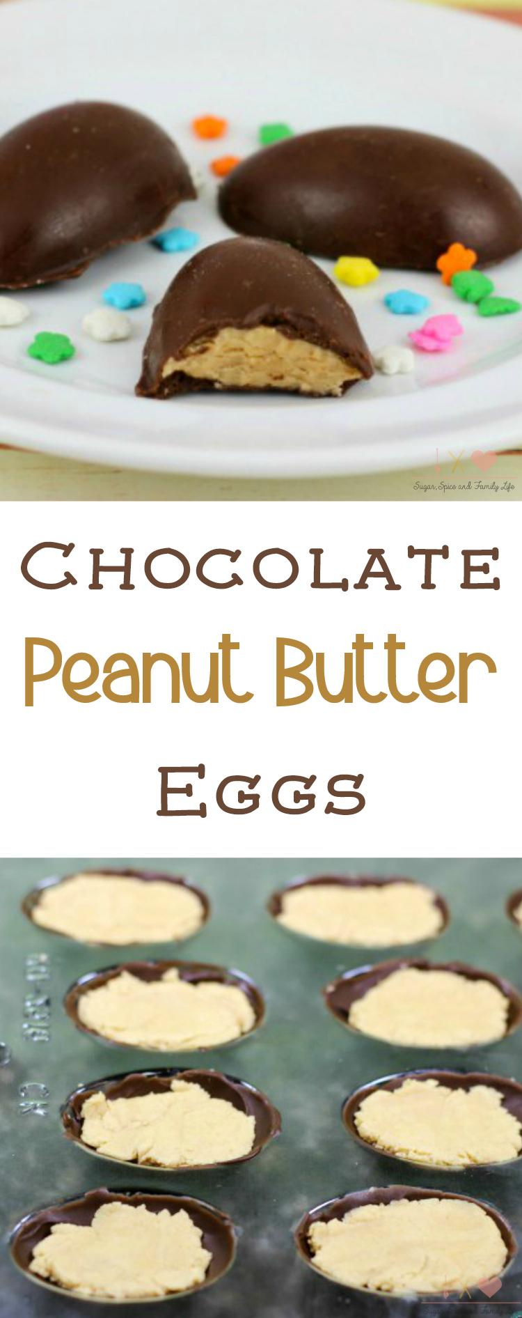 Chocolate Peanut Butter Eggs Recipe