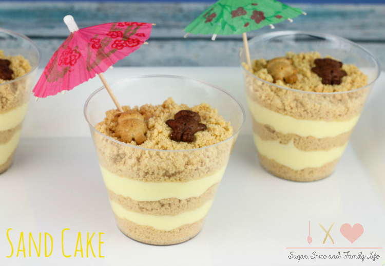 Beach-themed-Sand-Cake