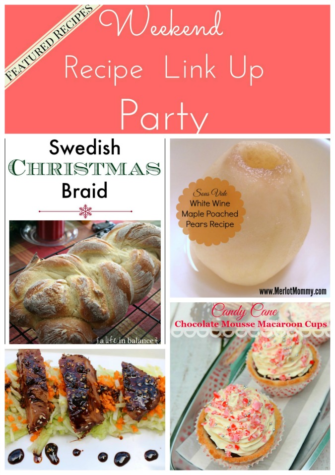 Weekend Recipe Link Up Party featured recipes 36