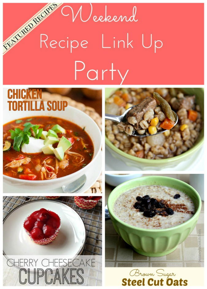 Weekend Recipe Link Up Party featured recipes 41