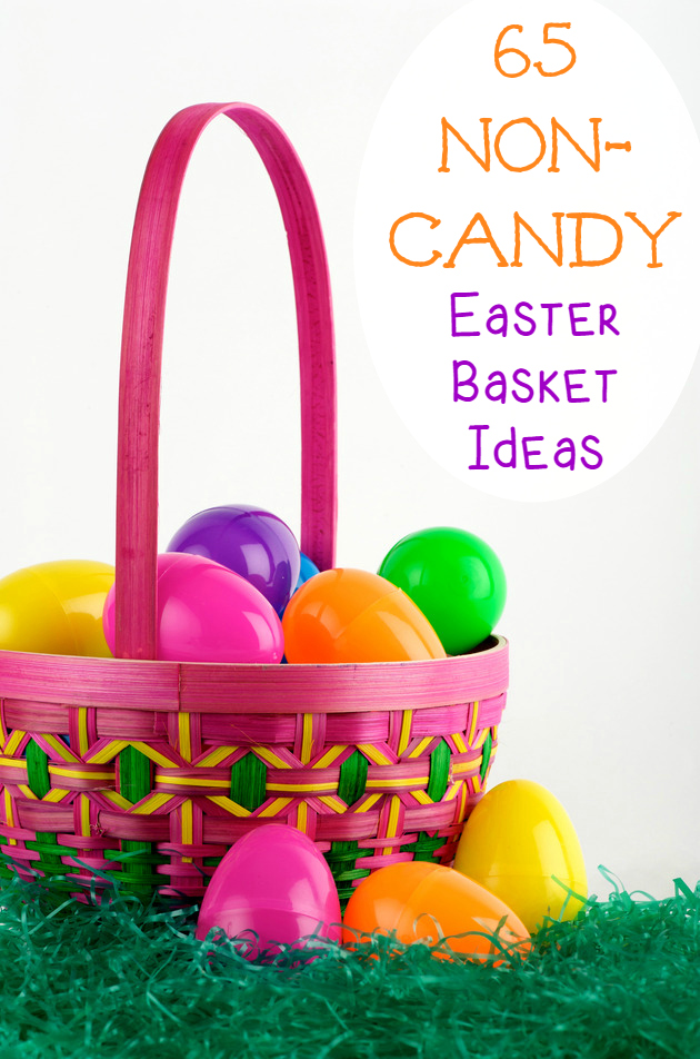 65 Non-Candy Easter Basket Ideas