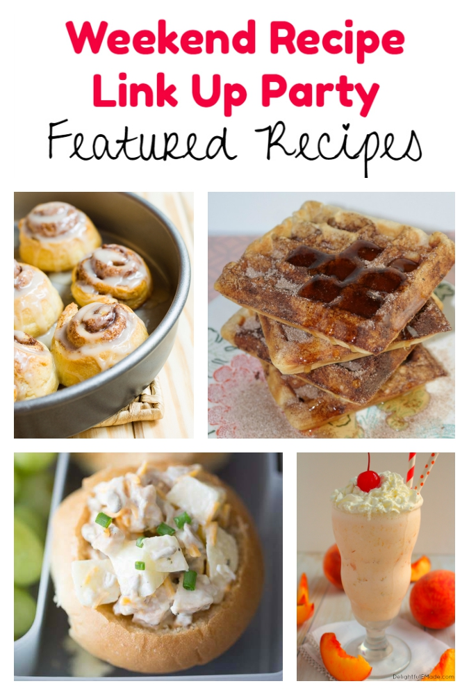 Weekend Recipe Link Up Party featured recipes 73